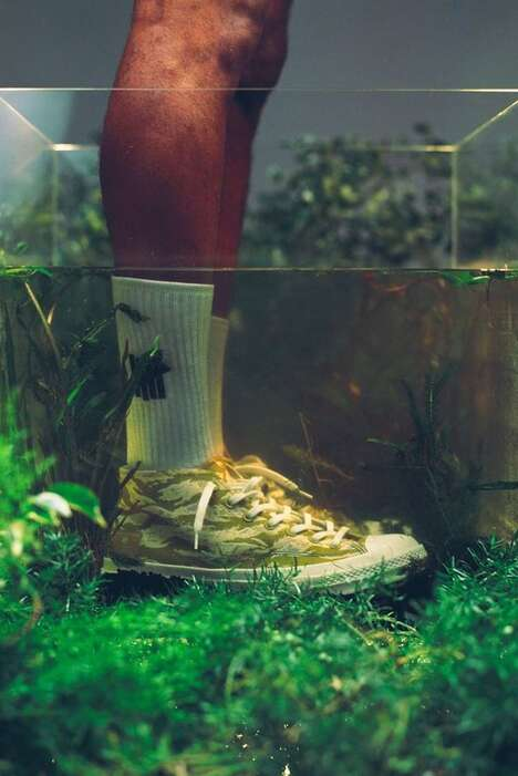 Camo-Print Casual Footwear