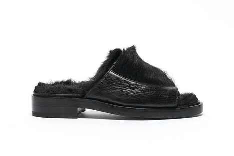 Fuzzy Winter-Ready Sandals