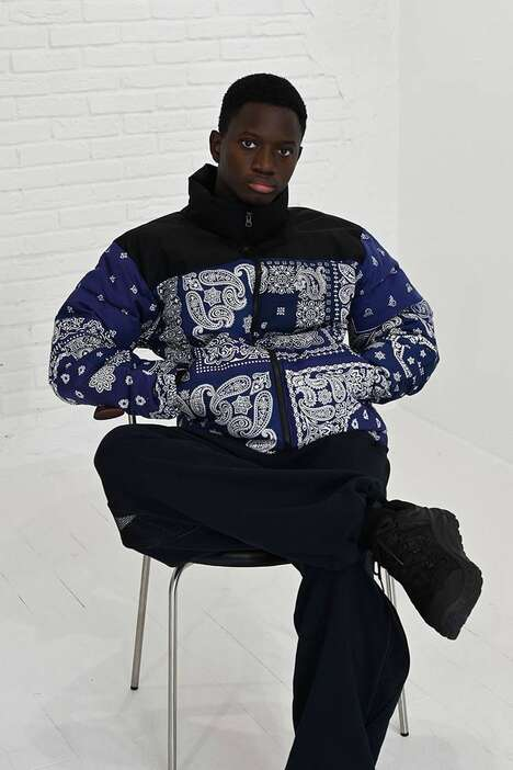 Bandana-Pattern Printed Jackets