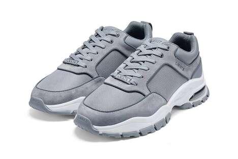 Sleek Luxe Tech Sneakers