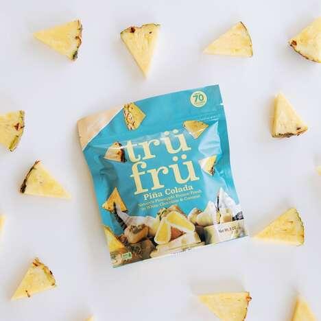 Hyper-Chilled Pineapple Snacks
