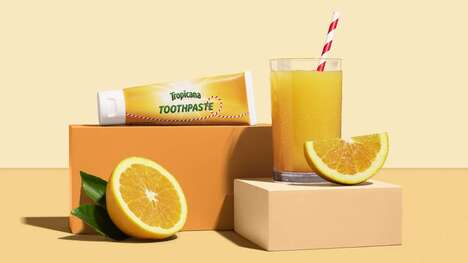 Limited-Edition Citrus Toothpastes