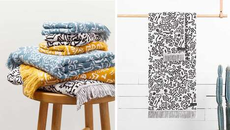 Artist-Inspired Linen Collections