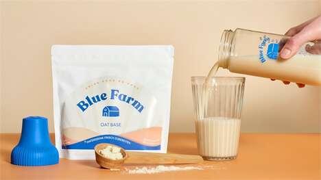 Waterless Plant-Based Milks