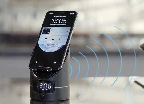Induction Smartphone Speaker Docks
