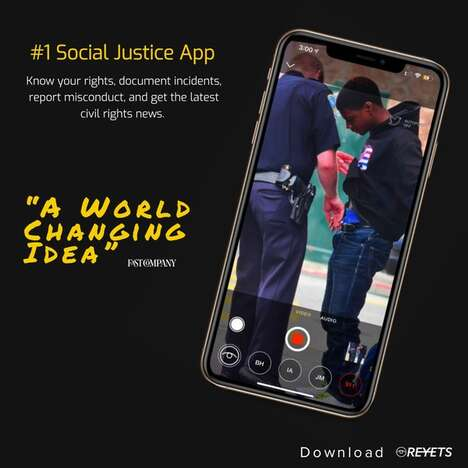 Social Justice Networking Apps