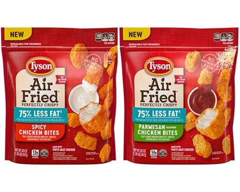 Frozen Air-Fried Chicken Snacks