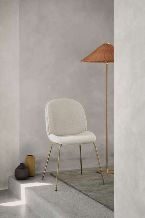 Neutral Upholstery Dining Chairs
