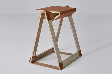 Storage-Friendly Origami Chairs
