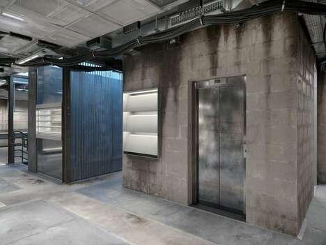 Industrial Luxury Fashion Shops