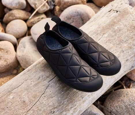 Outerwear-Inspired Slippers