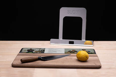 Display-Equipped Cutting Boards