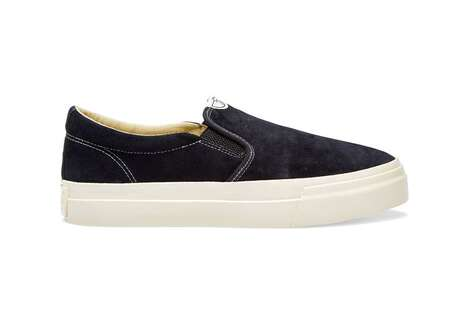 Limited Panelling Slip-On Shoes