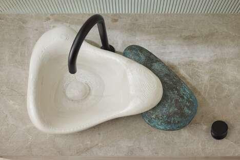 Sculptural 3D-Printed Sinks