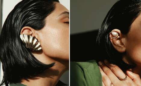 Simplistic Silhouetted Jewelry
