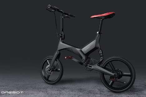Mono-Material Portable E-Bikes