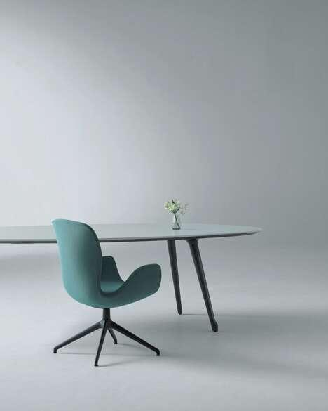 Flower Petal-Inspired Furniture