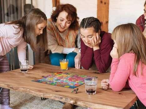 Interactive Puzzle Board Games