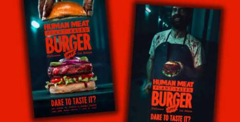 Plant-Based Human Meat Burgers