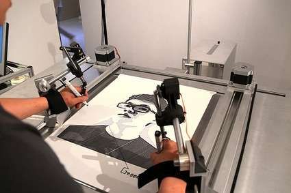 The Self-Portrait Machine Transfers Pictures into Drawings