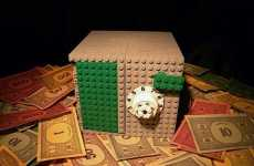 DIY Breakable Banks - The Intricate LEGO Safe is Made for Monopoly Money