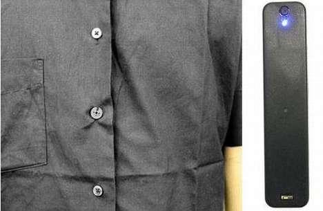Spy Camera Clothing