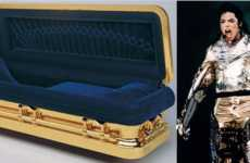 $25,000 Coffins - Michael Jackson to be Buried in 14K Gold Plated Coffin