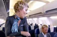 Nude In-Flight Videos - Air New Zealand Finds a Way to Get Excited About Safety