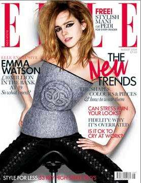 Emma Watson Bewitches the Cover of Elle Magazine UK