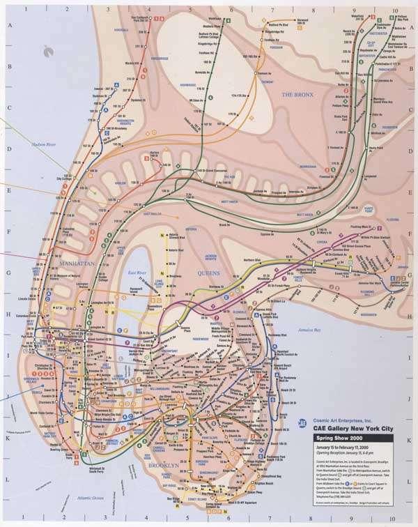 Fantasy New York Subway Map.Wiener Subway Maps Michael Hertz S Re Designed Map Isn T Well Endowed