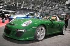 Electric Roadsters - The Dual-Motor RUF Porsche eRuf Greenster for 2010 Production
