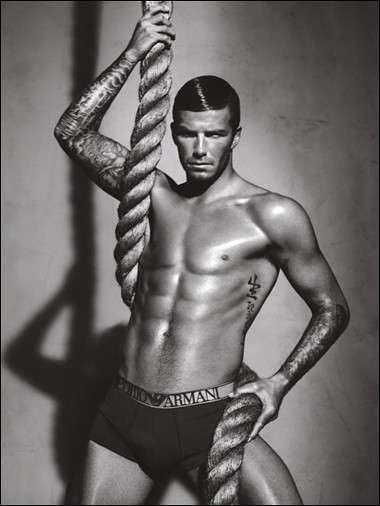 12 David Beckham Photo Shoots