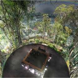 Asisi's Illuminated Amazon Panorama by Alexander von Humboldt