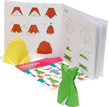 Paper Accessory Kits - Fashion Origami Sets Combine Crafting and Jewelry