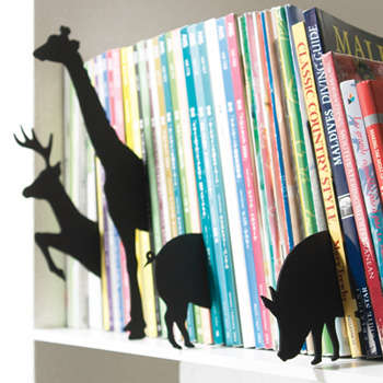 Library Zoos - 'Animal Index' Wildlife Book Markers Bring Bookshelves to Life