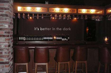 Dark Room Dining - O'Noir Toronto Restaurant Lets You Enjoy Dinner Without Seeing it (UPDATE)
