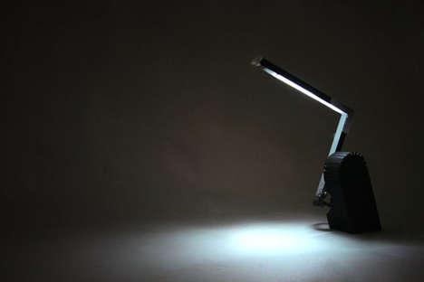 Social-Powered Lamps