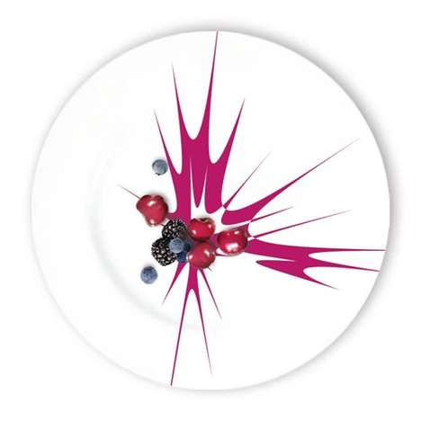 Paint Splattered Dishes