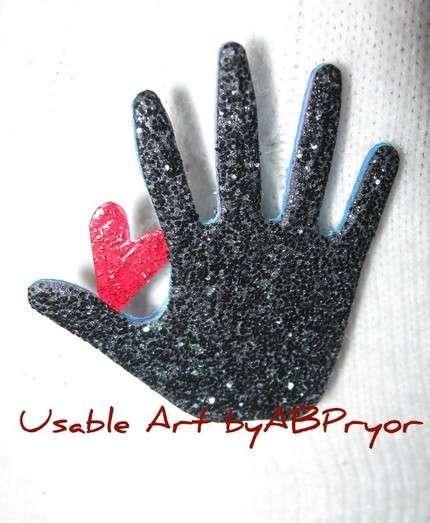 Sparkling Glove Creativity