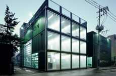 Shipping Container Theatres - Platoon Kunsthalle is an Eco-Friendly Space for Artistic Works