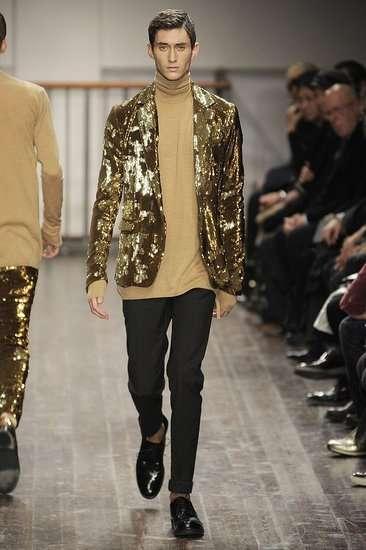 Gold Glitter Blazers