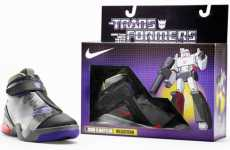 Toy Sneakers - Transformers Nikes Inspired by Hasbro's Characters