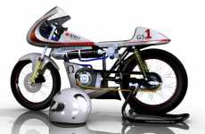 Air-Powered Motorcycles - Green Speed Bike Moves by the Power of the Elements