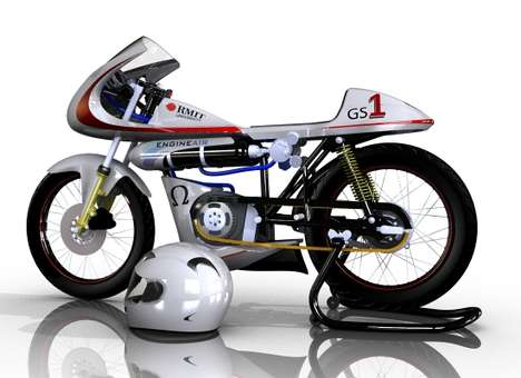 Air-Powered Motorcycles