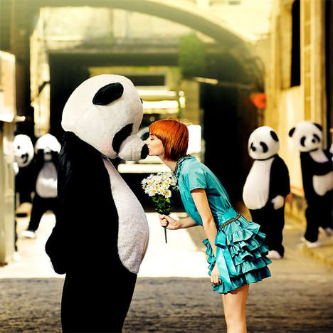 Ibai Acevedo's 'Panda de Osados' Takes Animal Love to a New Extreme