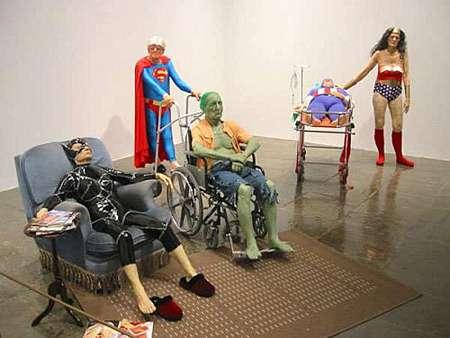Super-Old Superheroes