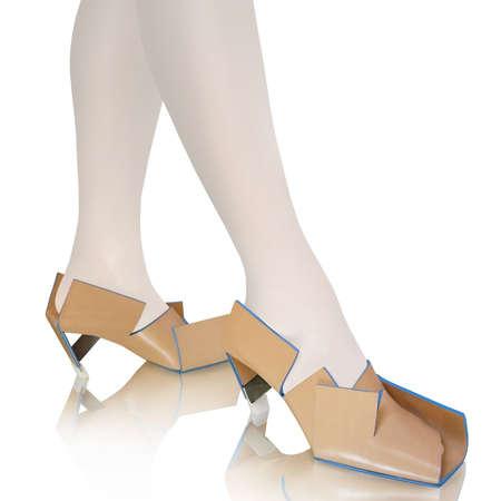 Folded Footwear