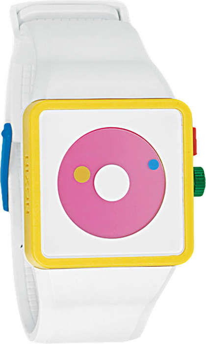 Color Crazy Watches - The Nixon Newton is a Rainbow for Your Wrist