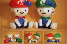 Anime Papercrafts - Hello Kitty Super Mario Bros. Combine Gaming With Manga