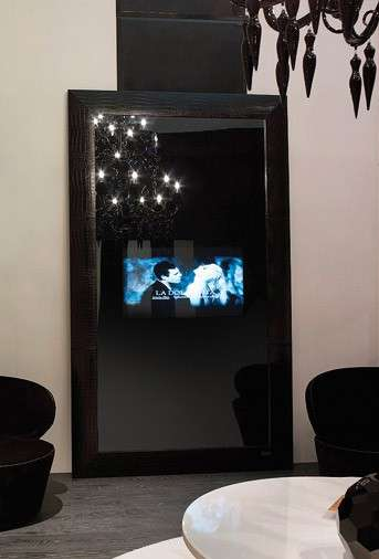 Mirrored Televisions